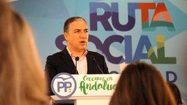 "Bendodo (PP-A) a Susana Díaz: ""Si no te quieren en tu partido, cómo vas a gobernar a todos los andaluces"""