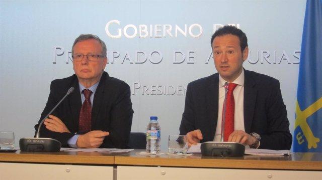 Francisco del Busto y Guillermo Martínez
