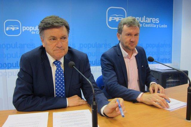 Valladolid. Vázquez y Lacalle analizan los congresos provinciales