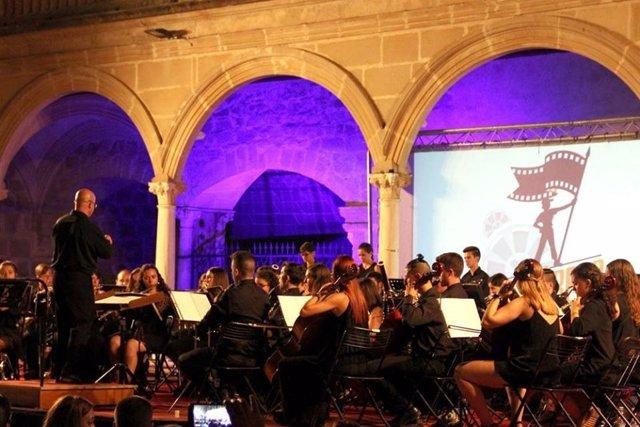 Archivo de un concierto del Cinefan de Úbeda