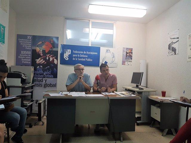 Mariano Sánchez Bayle y Sergio Fernández.