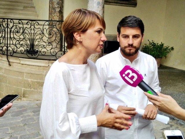 La portavoz del PP en el Ayuntamiento de Palma, Margalida Durán