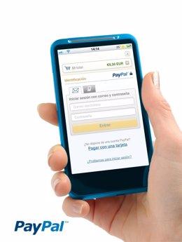 PayPal en móvil