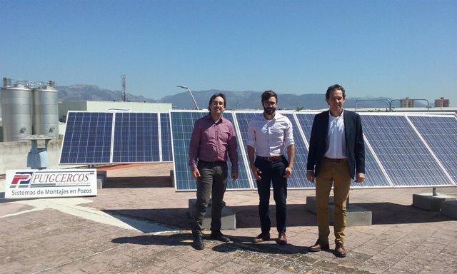 Visita del conseller Pons a Elèctrica Puigcercós