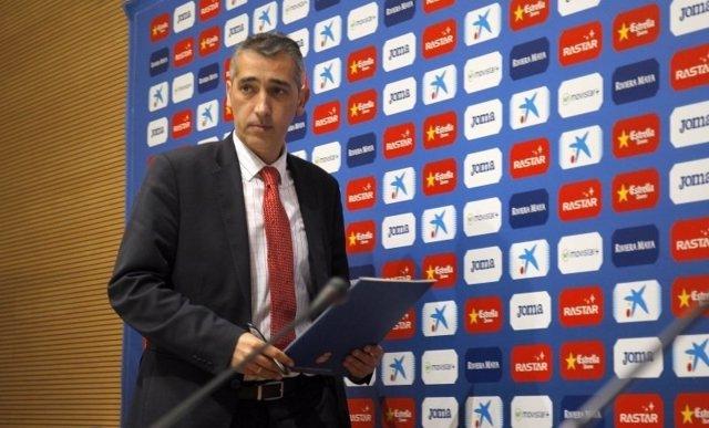 El consejero delegado del RCD Espanyol, Ramon Robert