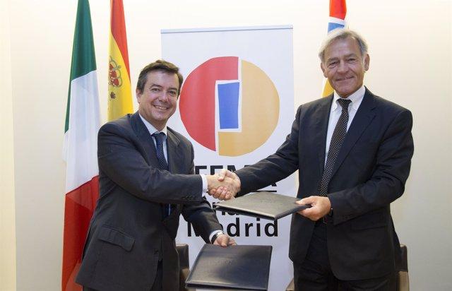 Ifema y Fiera Roma firman una alianza