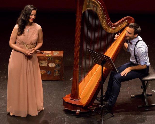 Dúa Harpevoix actuará en el centro Unicaja de Cultura de Antequera