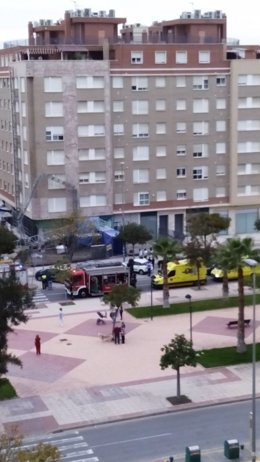Accidente laboral en Murcia