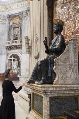Ivanka Trump en el Vaticano