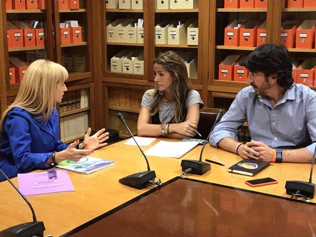 CSIf se reúne con Ciudadanos en el Congreso