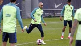 """Iniesta: """"Si el entrenador es Valverde es que está capacitado"""""""