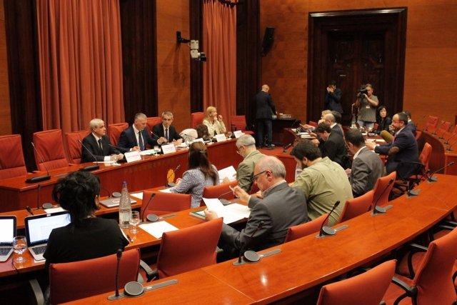 Reunión de la Comisión de Asuntos Institucionales.