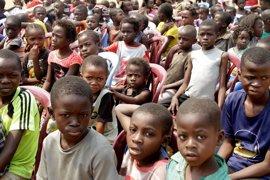 Unos 400.000 niños en riesgo de desnutrición aguda en Kasai (RDC) por la violencia, según UNICEF
