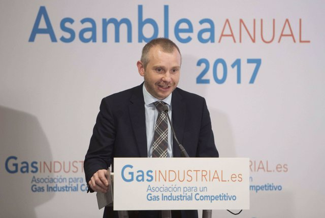 El secretario de Estado de Energía, Daniel Navia