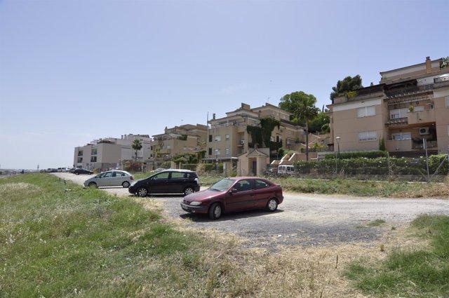 El aparcamiento de la calle Pureza.