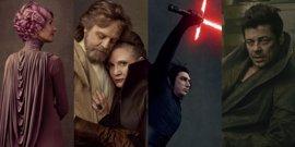Star Wars: Los últimos Jedi, fotos inéditas con Carrie Fisher, Mark Hamill, Benicio del Toro y Laura Dern