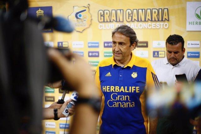 Luis Casimiro, entrenador del Herbalife Gran Canaria