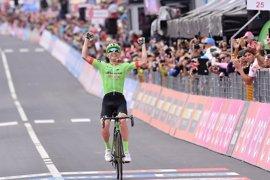 Rolland se impone en solitario en la decimoséptima etapa del Giro