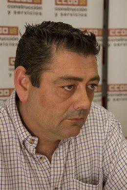 Fernando Baraza, secretario general de la Federación de Construcción de CCOO