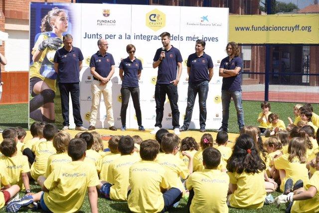El jugador del FC Barcelona Gerard Piqué