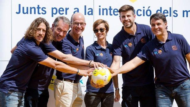 Defensa del FC Barcelona, Gerard Piqué
