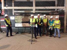 La Generalitat abrirá tres nuevas estaciones de Metro en L'Hospitalet en 2019