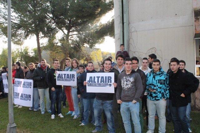 Alumnos del colegio Altair