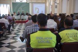 Miembros de los Cuerpos de Seguridad participan en unas jornadas sobre la intervención con menores protegidos en Granada