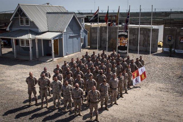 Irak.- Militares castellanoleoneses desplegados en Irak