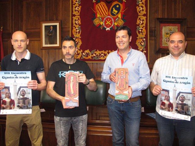 Nota Encuentro Gigantes De Aragón