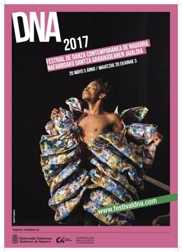 Cartel del festival de danza DNA 2017