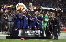 El United conquista la Europa League y saca su billete para la Champions