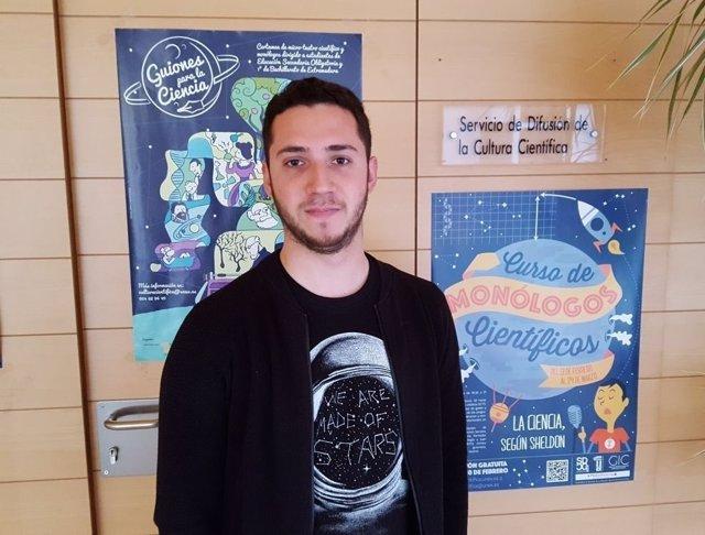 Pedro Daniel Pajares representará a España en la final internacional de FameLab