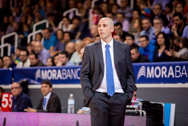 Joan Peñarroya, entrenador del MoraBanc Andorra