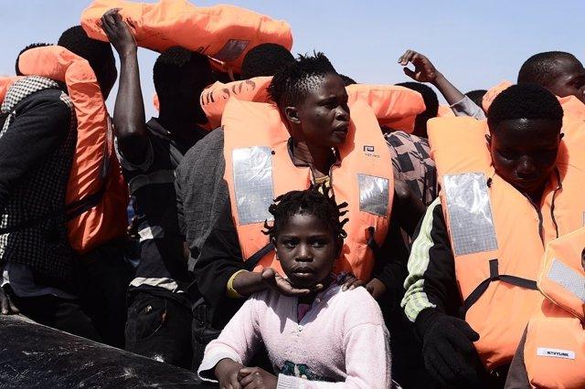 Rescate en el mar Mediterráneo