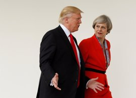 May reprochará a Trump las filtraciones a la prensa de EEUU sobre el atentado en Mánchester