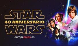 40 años de Star Wars en 40 imágenes