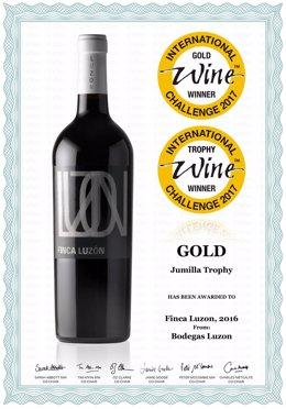 Finca Luzón 2016, elegido el mejor vino D.O. Jumilla