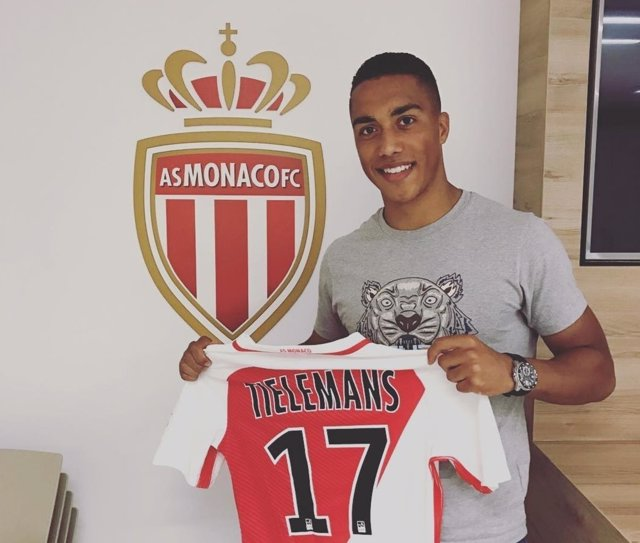 El centrocampista belga Youri Tielemans