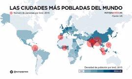 Así es vivir en las nueve ciudades más densamente pobladas del mundo