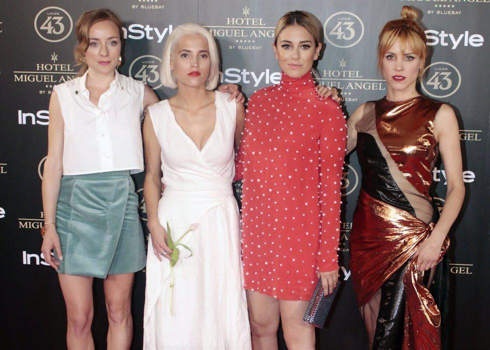 'Las Chicas Del Cable' En La Fiesta De La Revista Insytile./ Europa Press