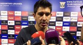 """Champagne: """"Me gustaría continuar en España, el Leganés es un club con muchas ganas de crecer"""""""