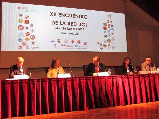 Valladolid.- Daniel Miguel, en la inauguración