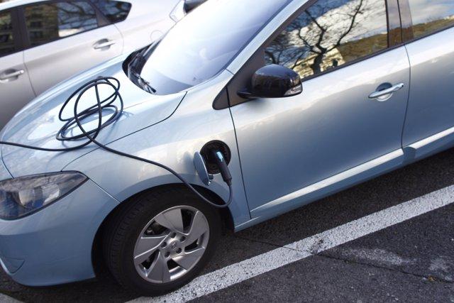Coche eléctrico, enchufe, motor, vehículo, híbrido, sostenibilidad, transporte