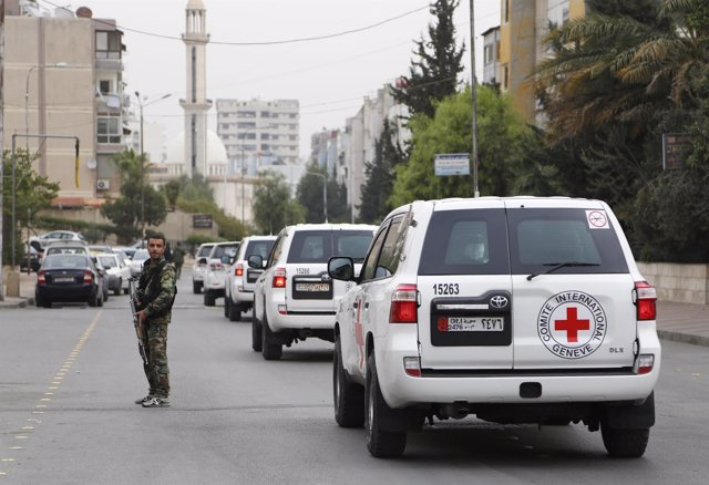 Convoy del CICR en Siria
