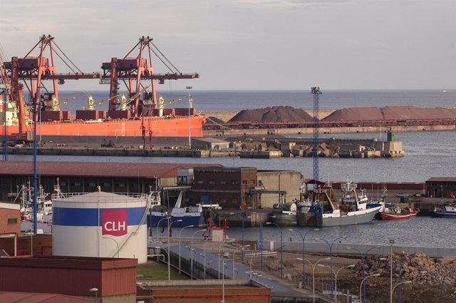 Puerto del Musel en Gijón