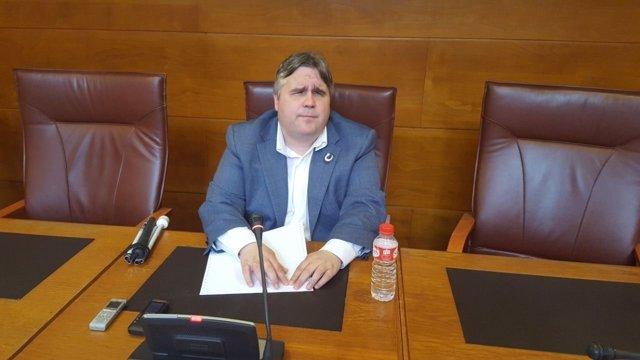 El diputado de Podemos Alberto Bolado