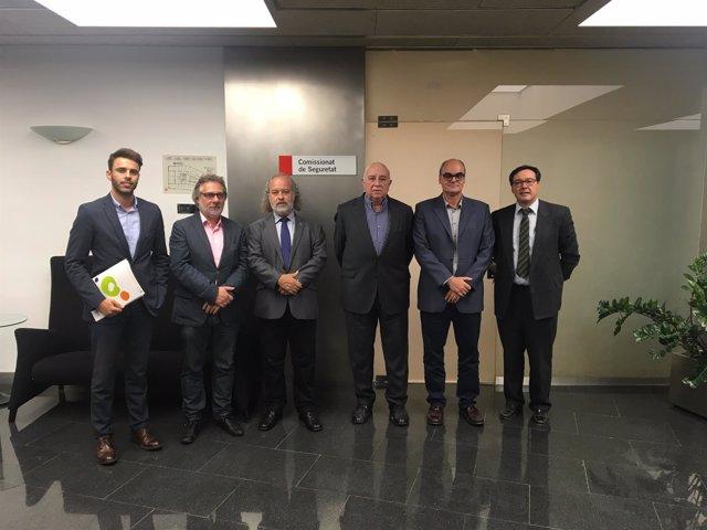 Pimec Comerç aborda con el Ayuntamiento de Barcelona el plan contra el top manta