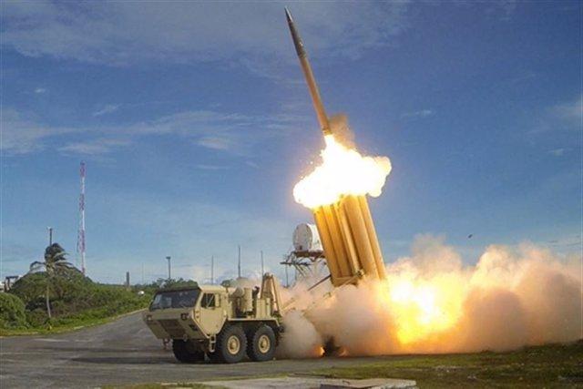 Sistema THAAD de defensa antimisiles de EEUU