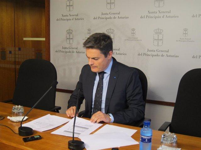 El Diputado Del Partido Popular En La Junta General, Pedro De Rueda.